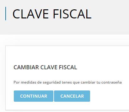 inscribirse en monotributo: cambiar clave fiscal